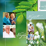 Nazareth Living Center - Co-Sponsored by the Sisters of St. Joseph of Carondelet and Benedictine Health System - Folder with inserts, brochures and website development.