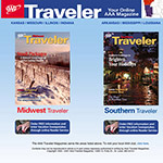 AAA Midwest And Sourthern Traveler Magazines - Magazine and Website
