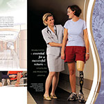 St. John's Mercy Rehabilitation Hospital - Services Booklet Folder and Brochures