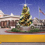 Aberdeen Heights Senior Living Center - Christmas Card Design